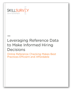 Leveraging Reference Data to Make Informed Hiring Decisions
