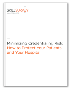 Minimize Credentialing Risk Whitepaper