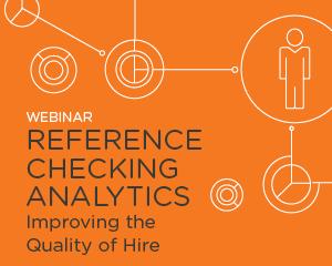 Reference Checking Analytics