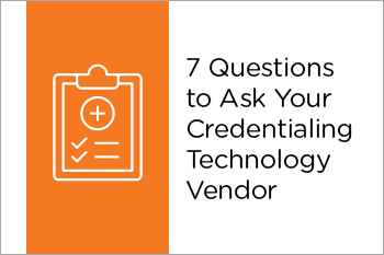 Credentialing Technology Vendor Essential Grid
