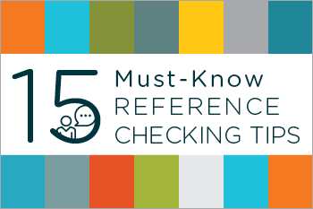 15 Must-Know Reference Checking Tips Essential Grid